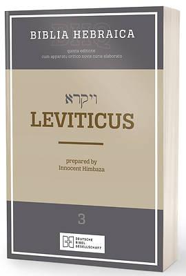 Picture of Biblia Hebraica Quinta Leviticus