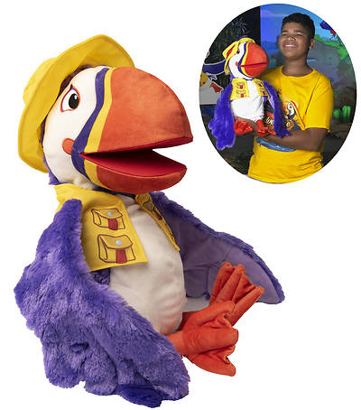 Picture of Vacation Bible School (VBS) 2021 Discovery on Adventure Island Beacon the Puffin Puppet