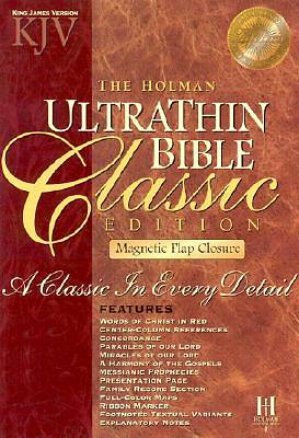 Picture of Ultrathin Bible-KJV-Classic