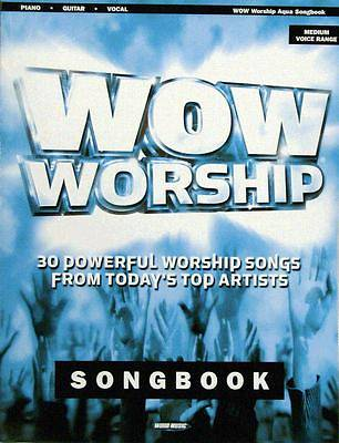 WOW Worship Aqua 2007 Songbook