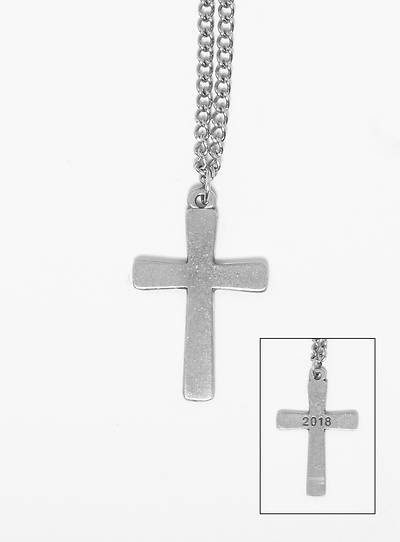 Pewter Cross Necklace 2018
