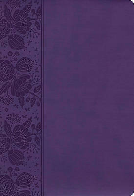 Picture of CSB Super Giant Print Reference Bible, Purple Leathertouch, Value Edition