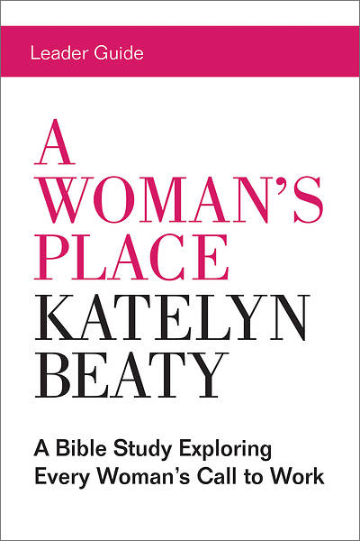 Picture of A Woman's Place Leader Guide - eBook [ePub]
