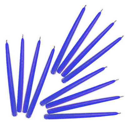 Advent Candle Tapers 7/8 X 15 Blue (Package of 12)