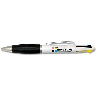 Pack of 12 Bible Study Pen - 4 Color
