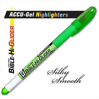 Accu-Gel Bible-Hi-Glider Green