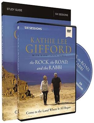 Picture of The Rock, the Road, and the Rabbi Study Guide with DVD