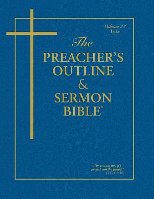 Picture of Preacher's Outline & Sermon Bible-KJV: Luke