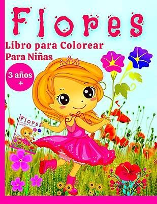 Picture of Libro de Colorear de Flores para Niñas