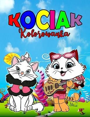 Picture of Kociak Kolorowanka