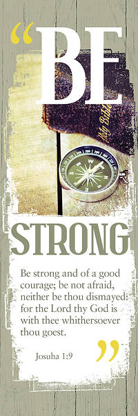 Picture of Be Strong Male General Bookmark