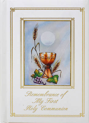 Picture of Remembrance of My First Holy Communion-Sacramental-Girl