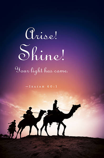 Arise!/Epiphany Bulletin 2013 (Pkg of 50)