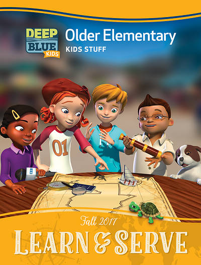 Deep Blue Kids Learn & Serve Older Elementary Kids Stuff Fall 2017