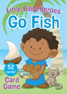 Picture of Little Bible Heroes Go Fish Card Game