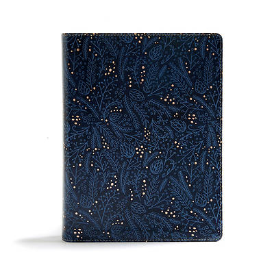 Picture of CSB Study Bible, Navy Leathertouch, Indexed