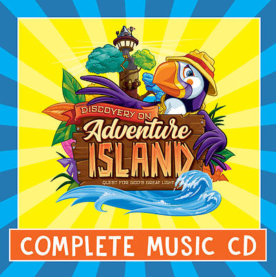 Picture of Vacation Bible School (VBS) 2021 Discovery on Adventure Island Complete Music CD