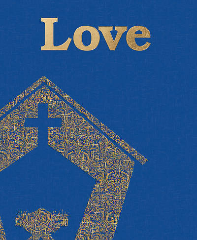 Picture of Love Stable Advent Legal Size Bulletin