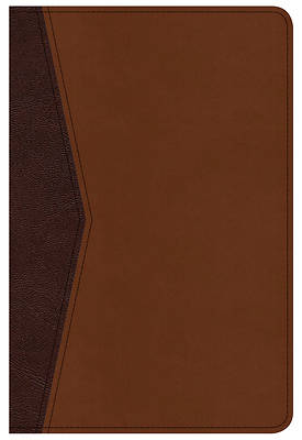 Picture of CSB Compact Ultrathin Bible for Teens, Walnut Leathertouch