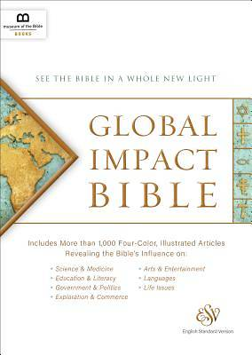 Picture of Global Impact Bible, ESV (Hardcover)