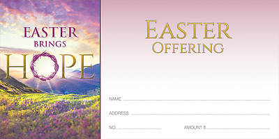 Easter Brings Hope Easter Offering Envelope