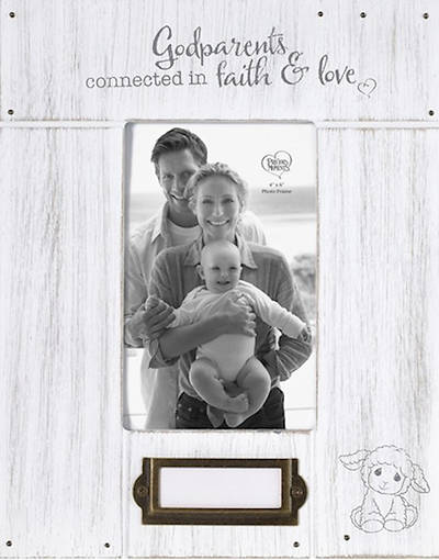 Picture of Godparents Connected in Faith and Love Photo Frame