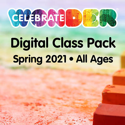 Picture of Celebrate Wonder Digital Class Pack Spring 2021