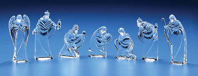 Nativity Figure Acrylic Set