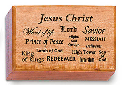 Keepsake Box Jesus Christ