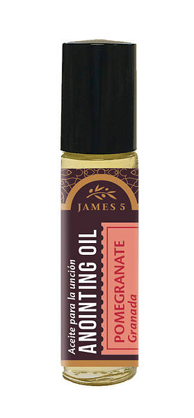 James 5 Pomegranate Anointing Oil - 1/3 oz.