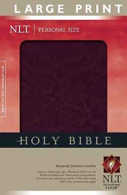 Personal Size Large Print Bible New Living Translation