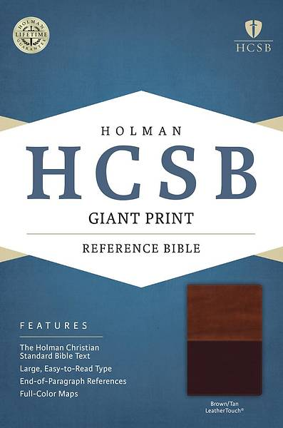 HCSB Giant Print Reference Bible