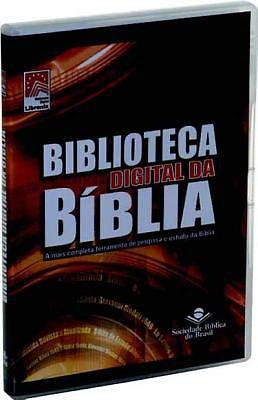 Portuguese Libronix Digital Bible CD-ROM