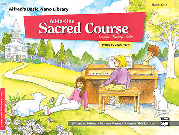 Alfreds All-In-One Sacred Course for Children Book 1