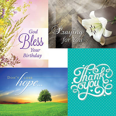 Picture of Faithful Moments - Assortment Pack Boxed Cards - Box of 12