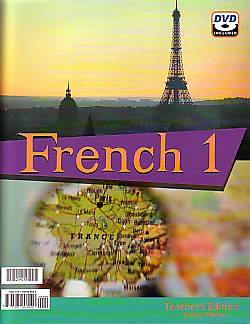 French 1 Teacher with DVD 2nd Edition