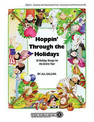 Hoppin Through the Holidays; 16 Holiday Songs for the Entire Year With CD (Audio)
