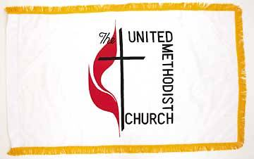 United Methodist 3 X 5 Flag