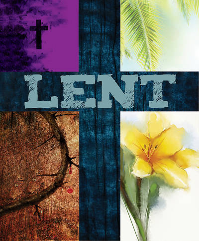 Lent Images Bulletin, Large (Pkg of 50)