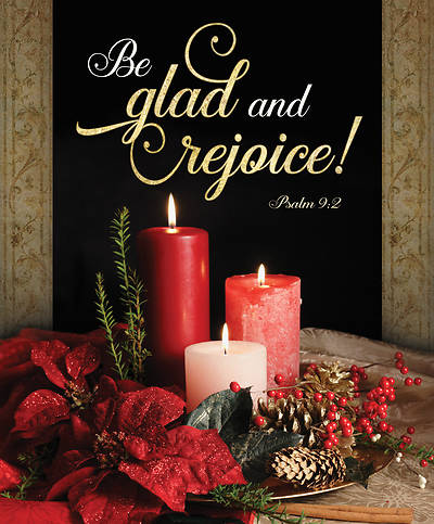 Picture of Be Glad and Rejoice Christmas Legal Size Bulletin