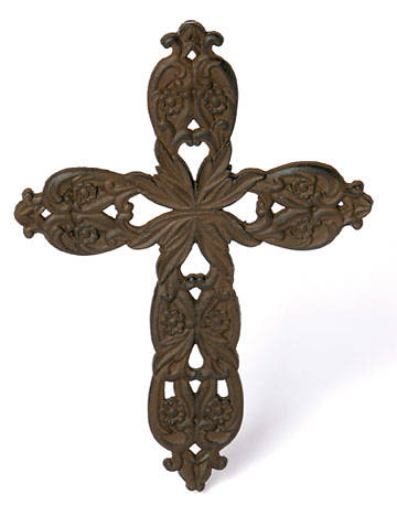 Picture of Cast Iron Cross 13.5""
