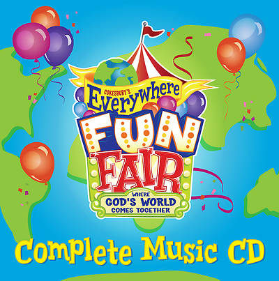 Vacation Bible School 2013 Everywhere Fun Fair Complete  Music CD VBS