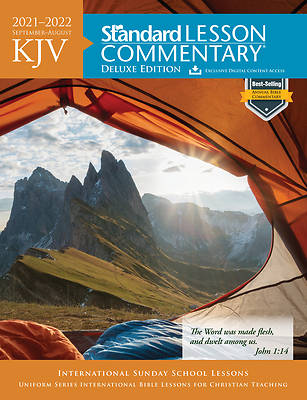 Picture of KJV Standard Lesson Commentary Deluxe 2021-2022
