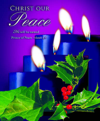 Advent Blue Sunday 4 Bulletin 2012, Large Size (Package of 50)