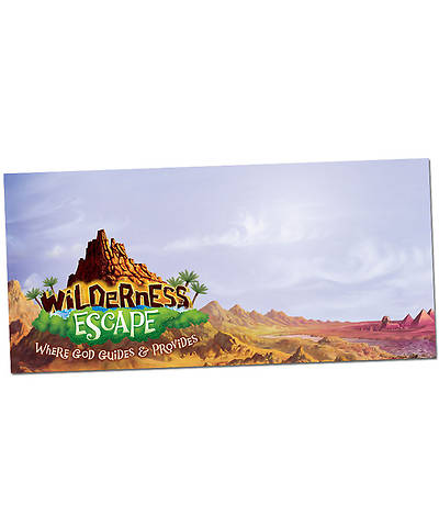 Group VBS 2014 Wilderness Escape Giant Outdoor Banner
