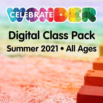 Picture of Celebrate Wonder Digital Class Pack Summer 2021
