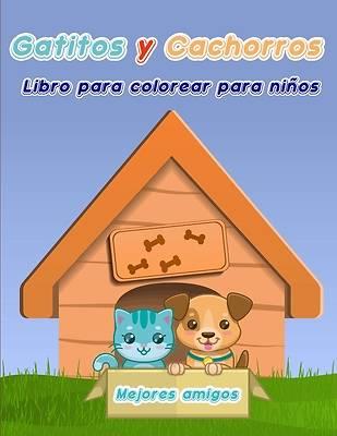 Picture of Libro para Colorear de Gatitos y Cachorros para Niños