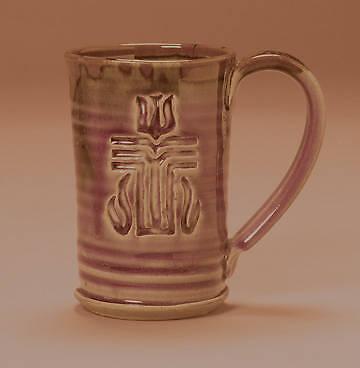 Picture of Presbyterian Church (USA) Straight Side Ceramic Mug - Tan