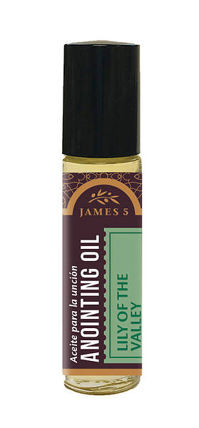 James 5 Lily of the Valley Roll On Anointing Oil - 1/3 oz.
