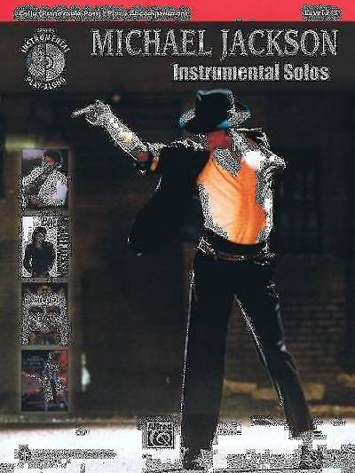 Michael Jackson Instrumental Solos, Cello; Level 2-3 With CD (Audio)